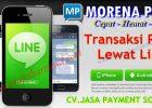 Cara Transaksi Aplikasi Line Morena Pulsa