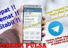 Cara Transaksi Via Telegram Morena Pulsa