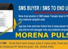Fitur SMS Buyer Morena Pulsa Murah